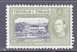 TRINIDAD & TOBAGO  58     ** - Trinidad & Tobago (...-1961)