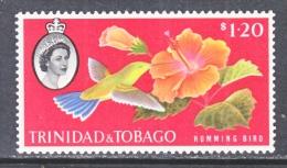 TRINIDAD & TOBAGO  101  **  HUMMING BIRD - Trinidad & Tobago (...-1961)