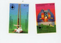 Dominica-1993-Copernic-YT 1538/9+B240***MNH
