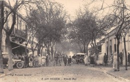 CPA ALGERIE AIN BESSEM GRANDE RUE - Algerije