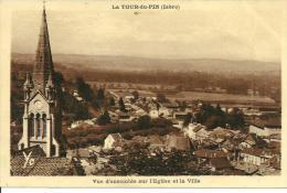44063     La Tour Du Pin   Vue Generale - La Tour-du-Pin