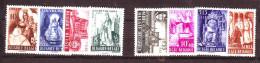 B - BELGIQUE  Séries N° 773/776 Et 777/780  Neufs**  Cote 35 Euros   Au Profit Des Abbayes - Belgien
