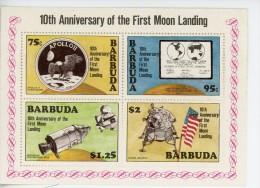 Barbuda 1980-Apollo 11-YT B49***MNH