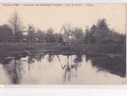 HERCK-LA-VILLE / HERK-DE-STAD : Pensionnat Des Religieuses Ursulines - Vue Du Jardin - L'étang - Herk-de-Stad