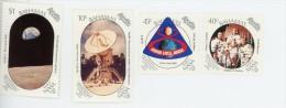 Bahamas 1989-Apollo 11-Anniversaire-Emission Commune-YT 691/4***MNH