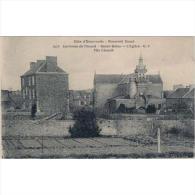 FRATP0853-LFTD2181TARSC.Tarjeta Postal DE FRANCIA.Edificios.campo E IGLESIA. Cote D´ Emeraude France - Edificios & Arquitectura