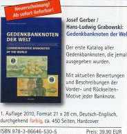 Gedenk-Banknoten Katalog 2011 Der Welt Neu 40€ Deutsch/english Commemorative Note Catalogue Numismatica Of All The World - Banknoten