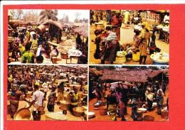 TABLIGBO TOGO Cp Animée Le Marché - Togo