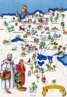Algérie > Villes> Constantine Carte - Constantine