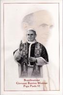 Italia Vaticano 2014 FOLDER Beatificazione Papa Paolo VI Giovanni Battista Montini Pope Paulus VI - Presentation Packs