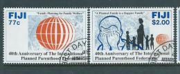 Fiji 1992 Planned Parenthood Set 2 FU - Fiji (1970-...)