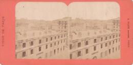 Commune De Paris  Semaine Sanglante 1871 Siege De Paris Ruines Du Conseil D état A Block - Fotos Estereoscópicas
