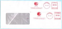 ÖSTERREICH AUSTRIA AUTRICHE - Brief AFS Meter Cover 2x 00700  --- KSV (026906) - Affrancature Meccaniche Rosse (EMA)