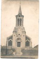"""BANTEUX L'eglise Photo Carte Manuscite """"souvenir De Banteux"""" TB - Francia"""