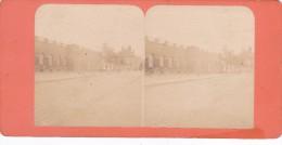 Commune De Paris 1871 Semaine Sanglante Ruines Du Grenier D Abondance - Stereo-Photographie