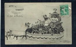 33 - BORDEAUX - Fête Des Vendanges 1909 - Le Char De Bachus - Bordeaux