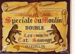 ETIQUETTE     BIERE  BELGE    SPECIAL   DU   MOULIN - Bière