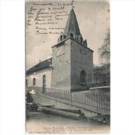 FRATP0857-LFTD1880TARIC.Tarjeta Postal DE FRANCIA.Edificios,arboles,iglesia Y PALACIO DE JUSTICIA DE PARIS. - Iglesias Y Catedrales