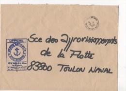 BASE AERONAVALE ROCHEFORT - CAD 17-ROCHEFORT MARINE 12/11/1985 - Postmark Collection (Covers)