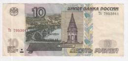 Russie 10 Roubles De 1997 - Russie