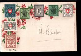 SUISSE Timbre, Poste De Genève, Port Cantonal, Poste Locale, Rayon, Orts Post, Ed Menke Huber, 26-09-1899 - Suisse
