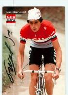 Jean Mary GREZET , Autographe Manuscrit, Dédicace. 2 Scans. Cilo Aufina - Cycling