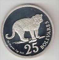 *Venezuela 25 Bolivar  1975  Km  46  Proof - Venezuela