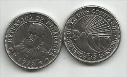 Nicaragua 10 Centavos 1972. UNC - Nicaragua