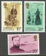 Tristan Da Cunha. 1981 Centenary Of Revd Edwin Dodgson's Arrival. MNH Complete Set. SG 300-302 - Tristan Da Cunha
