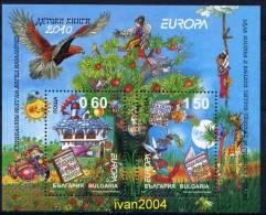 /Bulgaria - Europa 2010 -Children´s Books - Block  MNH** - Europa-CEPT