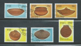 Fiji 1988 Pottery Set 6 FU - Fiji (1970-...)