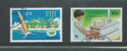Fiji 1988 Expo & Woman's Council Isues FU - Fiji (1970-...)