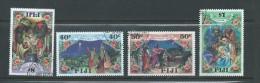 Fiji 1987 Christmas Set 4 FU - Fidji (1970-...)