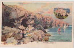 1900s GB Tilly Whim Caves Art Pc Frank Richards, Unused Ernest Nister Chromolitho - Illustrateurs & Photographes