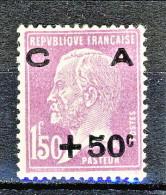Francia 1928 Caisse D'Am. Y&T N. 251, Fr. 0,50 + Fr 1,50  Lilla MNH (Biondi) - Sinking Fund