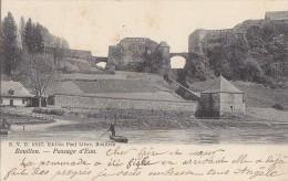 Belgique - Bouillon - Passeur Passage D'Eau - Editeur DVD 10417 - Cachet 1907 - Bouillon