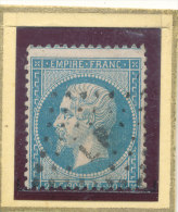 N°22 BELLE OBLITERATION ET OU ( VARIETE ) - 1862 Napoléon III