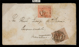 BC - Seychelles. Cartas.  1875. March 7th. Cover To Mauritius Franked At 4d Rate With Mauritius 1863-72 1d Brown And ... - Sin Clasificación