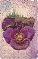 Ar - Cpa Fantaisie Avec Ajoutis (fleur) Et Découpis - Amitié - Fancy Cards
