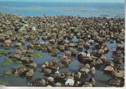 DAHOMEY - Cité Lacustre De GANVIE - Excellente Prise De Vue Aérienne - Dahomey