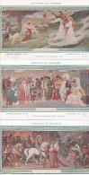 6 Cpa Jeanne D'Arc - Lionel Royer Pinxit - Basilique De Domremy - Entrée à Orléans Reconnaissance Du Roi Chinon Reims .. - Domremy La Pucelle