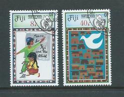 Fiji 1986 International Peace Year FU - Fiji (1970-...)