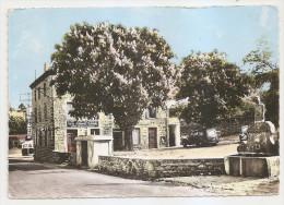 Loire - 42 - St Saint Jean Soleymieux Poste , Perception Et Vieille Fontaine 1964 , Ed Photo Cim - Saint Jean Soleymieux