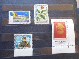 Mongolia  Romania  Russia  Unused Stamps  1983    J45.10 - Mongolia