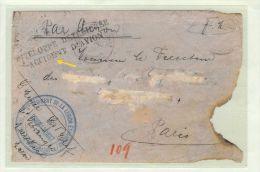 Afrika Marocco 1928-10-02 Unfallflug-Brief Fremdenlegion - Maroc (1956-...)