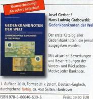 Gedenk-Banknoten Katalog 2011 Der Welt Neu 40€ Deutsch/english Commemorative Note Catalogue Numismatica Of All The World - Letteratura