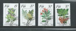 Fiji 1984 Flowers II Set 4 FU - Fiji (1970-...)
