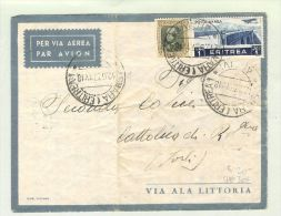 Afrika Gabun 1941-08-30 Zensur-Brief > CH - Gabon (1960-...)
