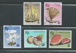 Fiji 1984 Fungi Mushroom Set 5  FU - Fiji (1970-...)