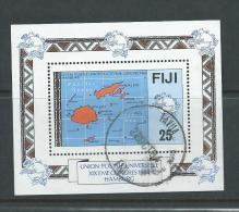 Fiji 1984 UPU Congress Miniature Sheet FU - Fiji (1970-...)